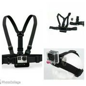 Chest Harness Belt Strap + Head Belt Set for GoPro & Xiaomi Yi