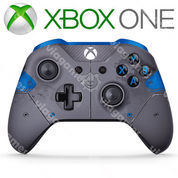 """XBOX ONE S Wireless Controller """"Blue"""" Gear Of Wars 4 Limited Edition"""