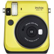 Fujifilm Instax Polaroid Mini 70 (Canary Yellow)