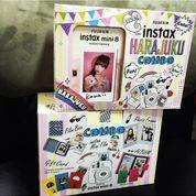 Fujifilm Instax Polaroid Mini 8 (White / Putih)