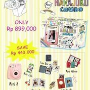 Fujifilm Instax Polaroid Mini 8 (Yellow / Kuning)