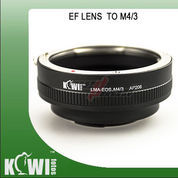 KIWIFOTOS LMA-EOS_M4/3 ~ CANON LENS TO MICRO4/3 CAMERA ADAPTER