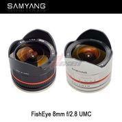 SAMYANG 8MM F/2.8 UMC FISHEYE (NEX)