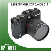 KIWIFOTOS LENS ADAPTER FOR CANON G15 / G16