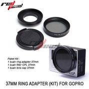37MM RING ADAPTER KIT FOR HERO GOPRO 3 /3+