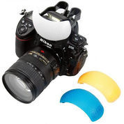 Internal Pop-up flash Diffuser 3in1