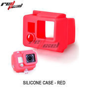 SILICON CASE FOR GOPRO HERO 3 (RED)