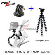 FLEXIBLE TRIPOD (M) WITH MOUNT ADAPTER