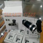 Mobile Phone Telescope 8X Zoom Teleskop Lensa Camera