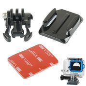TMC Buckle Basic and Curved Mount with 3M Adhesive Sticker for AActCam