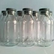 Botol Kaca Tutup Karet 120ml (Rekondisi) Untuk AS dan lainnya
