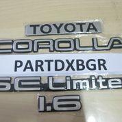 1 Set Emblem Logo Untuk Twincam Tulisan Toyota Corolla SE Limited 1.6