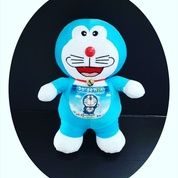 "Boneka Doraemon VTR Standing / berdiri ukuran M 15"" inchi kurleb 40cm 70rb"
