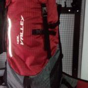 Tas Ransel Gunung 40liter Carrier Mudik Backpacker Warna Oranye Kusam