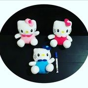"Boneka Hello kitty yoyo 8"" inchi kurleb 21cm"