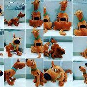 Boneka karakter hewan si anjing cerdas & lucu tokoh serial film kartun scooby doo SNI NEW murah
