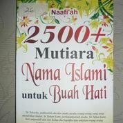 2500+ Mutiara nama Islami untuk buah hati