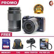 Canon Eos M2 Double Lens Paket Lengkap