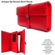 dompet hpo android iphone dll hermess kulit roof merah