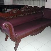 Sofa Jati Ukir Kuno