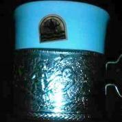 Tea Set Antik Tatakan Perak