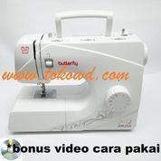 Mesin jahit portable merk Butterfly jhk25a
