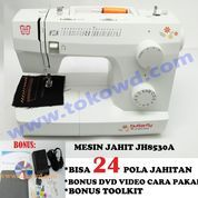 Mesin jahit portable merk Butterfly JH 8530 A / JH8530A JH8530 A