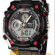 Jam tangan sport tetonis 38 original Rp.185.000,- -Tahan Air 30 Meter -tangal -hari -Alarm -double time (analog digital) -Mesin Batre -diameter 4.5Cm