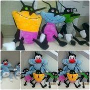 Boneka tokoh serial kartun kecoa markey deedee joey film oggy and the cockroaches 1 set SNI NEW murah
