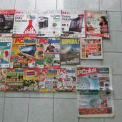 Majalah InfoKomputer, PC Media / Ekonomis, Tabloid PCplus, Majalah Sepeda Dan 3 Buah Buku