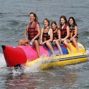 Banana Boat Zebec Kapasitas 5 Orang