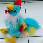 Boneka Ayam al warna biru muda kuning merah lucu unik SNI murah Ecer & grosiran