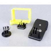 MCStore Frame Mount Tripod Cradle Hat Clip Clamp Set GoPro 3/3+/4 TMC