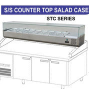 PIZZA TOPPING AND SALAD DISPLAY STC-150