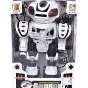 ROBOT ANDROID WONDERFUL EMISSION HITAM - Mainan Anak - Mainan Edukatif