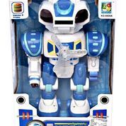 ROBOT ANDROID WONDERFUL EMISSION BIRU - Mainan Anak - Mainan Edukatif