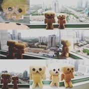 Boneka karakter tokoh fiksi manga jepang si danbo atau danboru atau kardus 2 ukuran SNI NEW ORI ecer & grosiran reseller kualitas eksport