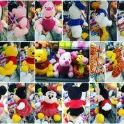 Boneka tokoh film kartun walt disney world winnie the pooh dkk piglet tiger mickey minnie mouse donald duck SNI NEW murah
