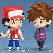 [KYN05] NENDOROID POKEMON TRAINER RED AND GREEN