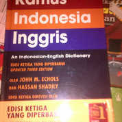 kamus indonesia inggris