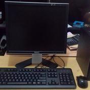 """CPU Hp Hasweel G801 Intel Core I5 Ultra Slim+ Monitor 17 """"Hebat Dikelasnya.."""