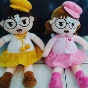 Boneka Mella em kacamata dan topi / Doll Mella em glasess with hat grade Super Ori SNI NEW murmer Bahan realpict lucu
