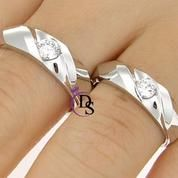 cincin kawin, cincin couple, cincin tunangan perak