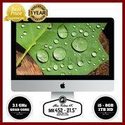 "GARANSI RESMI APPLE 1 TAHUN iMac MK452 - 21.5""/3.1GHz quad core i5"