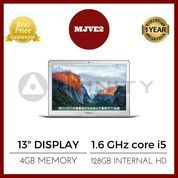 "BNIB GARANSI APPLE 1TH Macbook Air 13"" - MJVE2 - 1.6GHz Core i5/4GB"