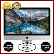 "GARANSI RESMI APPLE 1 TAHUN iMac MK482 - 27""/3.3GHz quad core i5"