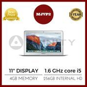 "BNIB GARANSI APPLE 1TH Macbook Air 11"" - MJVP2 - 1.6GHz Core i5/4GB"