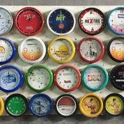 Souvenir jam Dinding promosi Murah