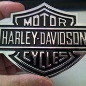 Emblem Metal Harley Logo.