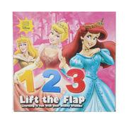 Mainan Edukasi Lift the Flap Book 123